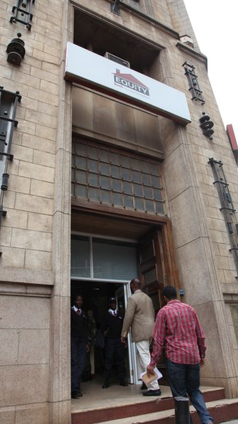 Equity Bank entrance