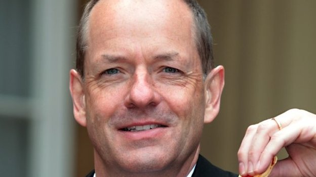 GlaxoSmithKline Chief Executive Andrew Witty is pictured after receiving a knighthood