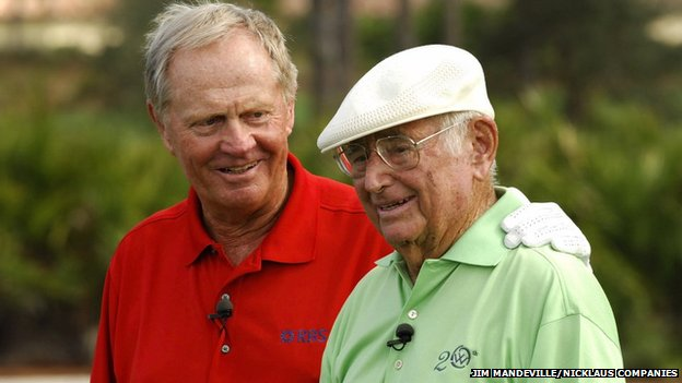 Jack Nicklaus and Errie Ball