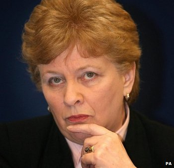 Nuala O'Loan, pictured in 2007 during her time as Northern Ireland's Police Ombudsman