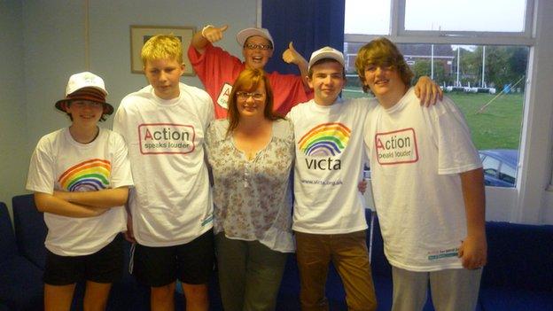 VICTA team