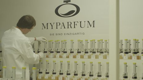 "Laboratory at ""MyParfum"""