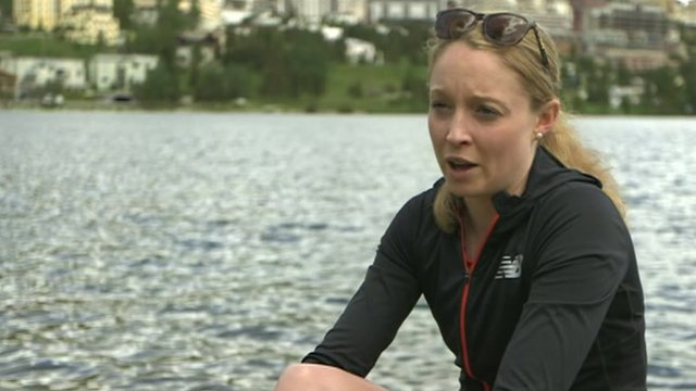Welsh triathlon star Non Stanford