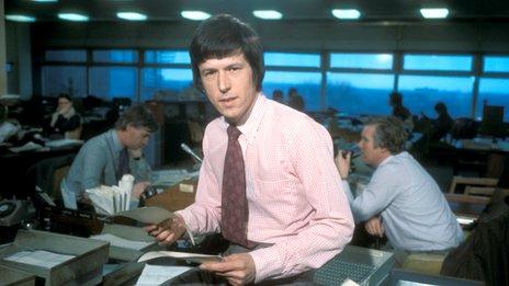 Newsround John Craven's 1972