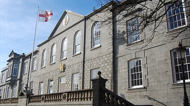 Guernsey's Royal Court and States building