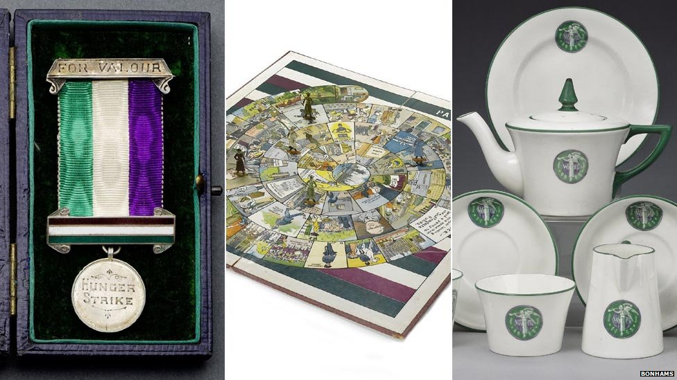 Suffragette movement items