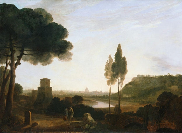 Rome and the Ponte Molle
