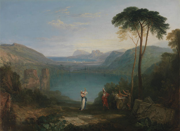 Turner - Lake Avernus
