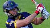 Glamorgan's Jim Allenby made only the third T20 century scored in this year's competition.