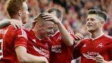 Aberdeen beat Daugava Riga 5-0 in Europa League qualifying