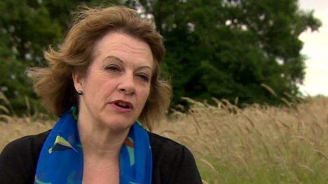 Karen Gardner, a women who gave evidence at the trial of the entertainer Rolf Harris