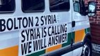 VIDEO: The British trying to bring aid to Syria