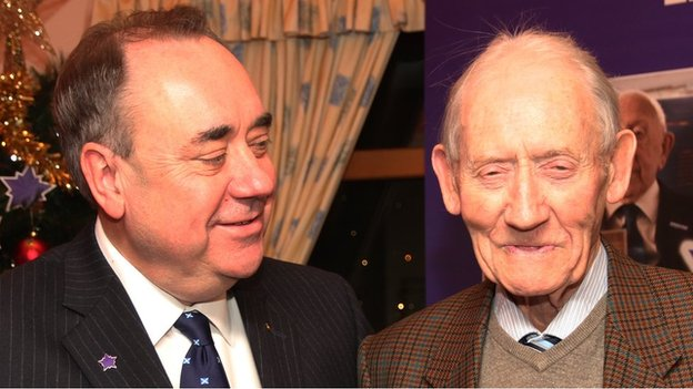 Alex and Robert Salmond