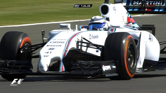 British Grand Prix: Susie Wolff makes history in practice