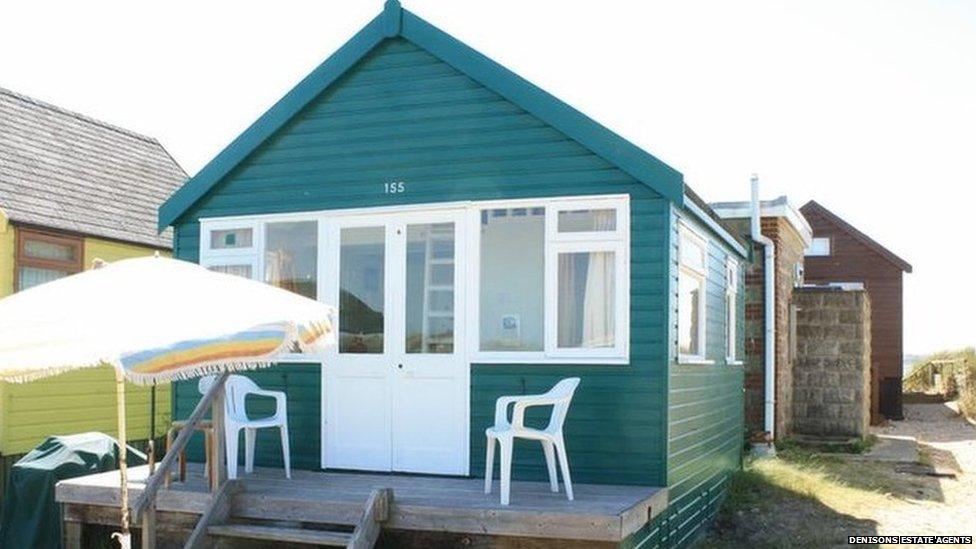 Beach hut 155, Mudeford Spit