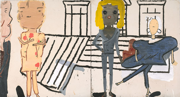 PV Windows and Floorboards - Rose Wylie