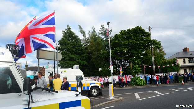 Twaddell protest camp
