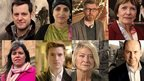 Matt Baker, Dr Saleyha Ahsan, Gareth Malone, Joan Bakewell, Claudia Hammond, Greg James, Kate Adie, Rory Cellan-Jones