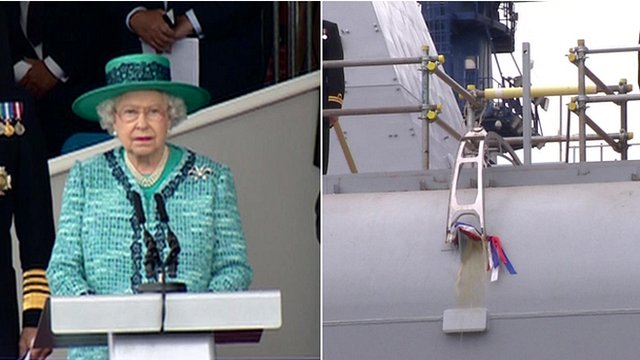 Queen names ship