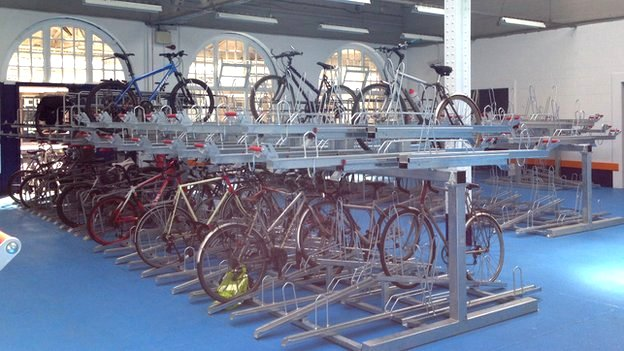 Cycle hub in Sheffield