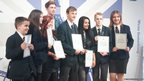 Anti-bullying ambassadors from Appleton Academy receive their Diana Awards