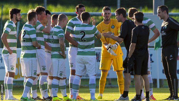 Celtic are preparing for the new season at an Austrian training camp