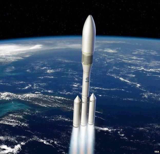 Initial Ariane 6 design