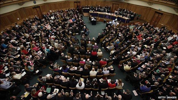 Church of England general synod meeting