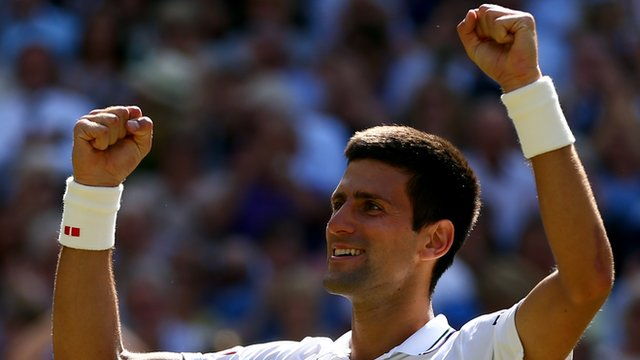Djokovic reaches Wimbledon final