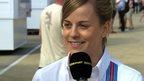 British Grand Prix practice: Inside F1 with Susie Wolff