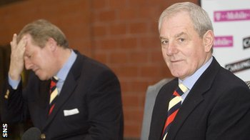 Former Rangers manager Walter Smith and former owner Sir David Murray