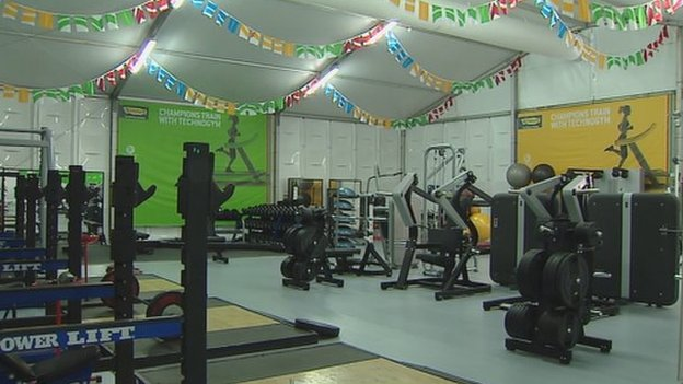 Athletes' Village gym