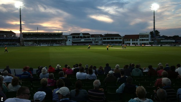 Canterbury under lights, 4th of July 2014