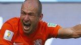 Netherlands winger Arjen Robben