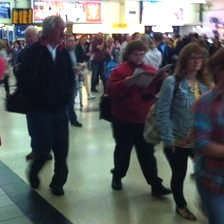 crowds at leeds station
