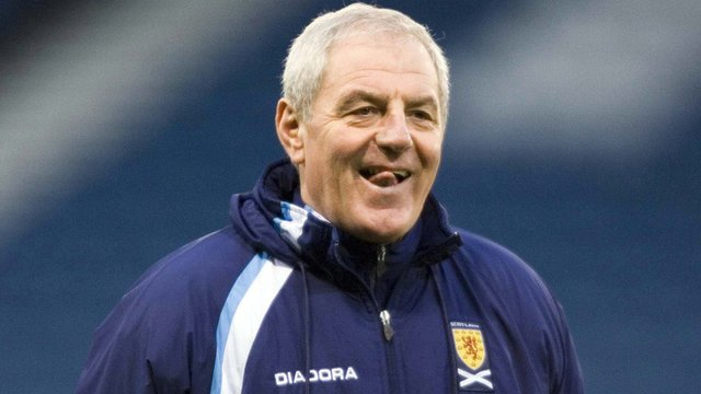 Walter Smith managed Scotland from 2004 to 2007