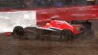 British Grand Prix: Slips and spins in third practice
