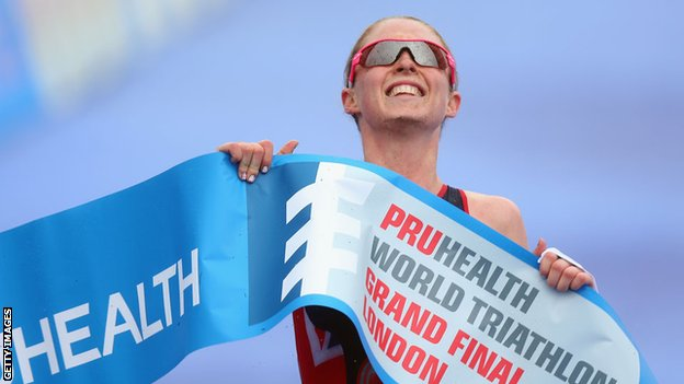Non Stanford wins the 2013 World Triathlon title