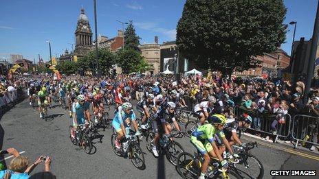 riders in leeds
