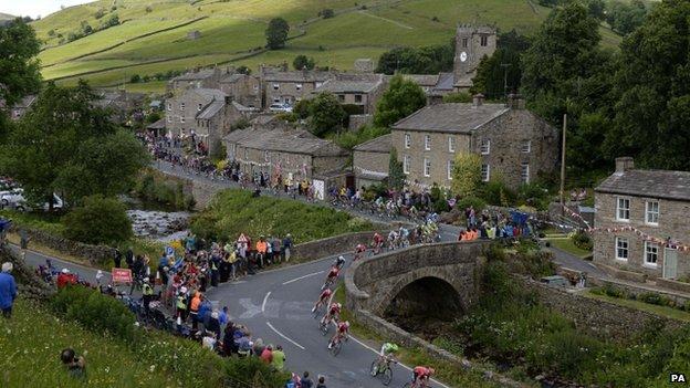 Tour de France peloton Muker