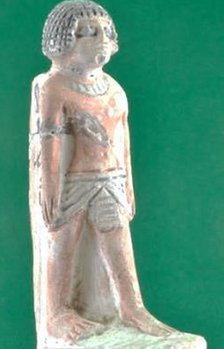 Statuette of Sobekhotep from around 1500 BC