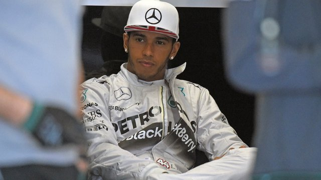 British Grand Prix: My decision not to go out - Lewis Hamilton