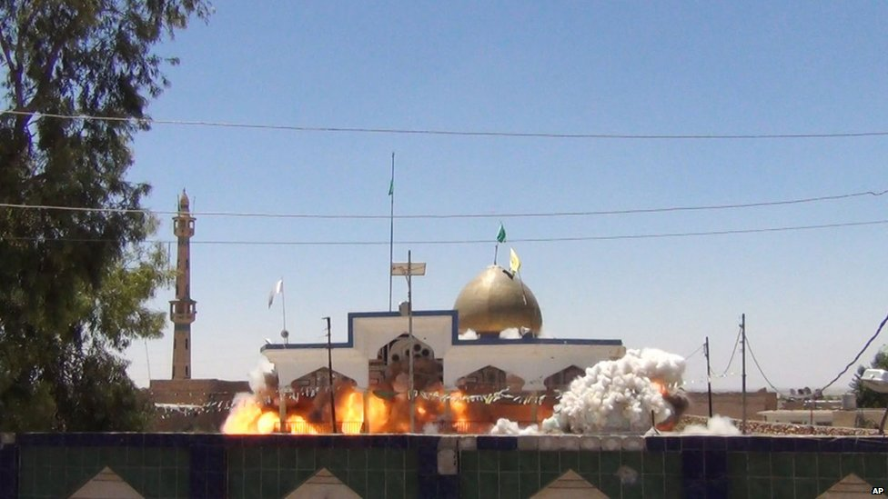 Saad bin Aqeel Husseiniya shrine in Tal Afar