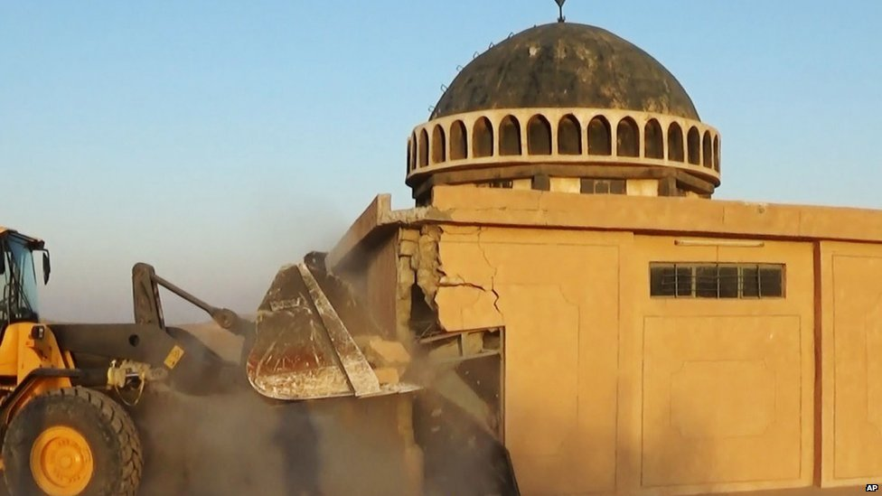 Ahmed al-Rifai shrine and tomb in the Mahlabiya district near Tal Afar