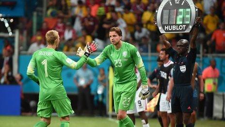 Netherlands v Costa Rica