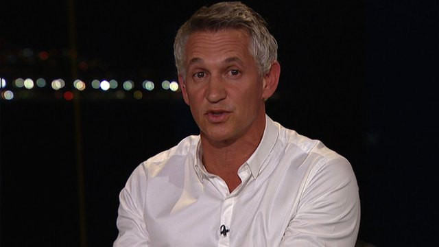 Gary Lineker picks his World Cup finalists