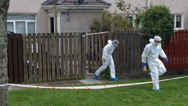 Craigavon murder scene