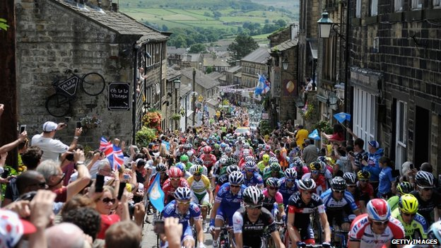 Tour de France in Haworth