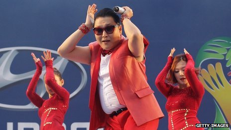 South Korean singer Psy