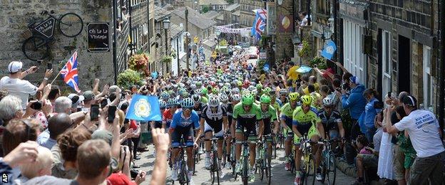 Tour de France in Yorkshire